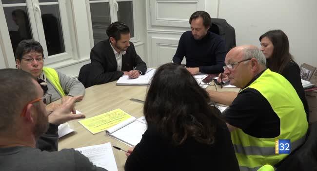 Canal 32 - Le député Grégory Besson-Moreau à la rencontre des Gilets Jaunes
