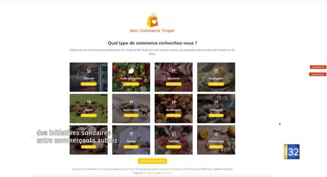 Canal 32 - Mon commerce troyen : des initiatives solidaires entre commerçants aubois
