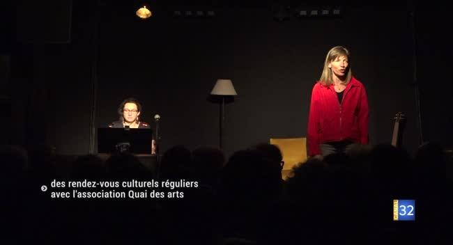 Canal 32 - Polisot : des rendez-vous culturels réguliers avec Quai des arts