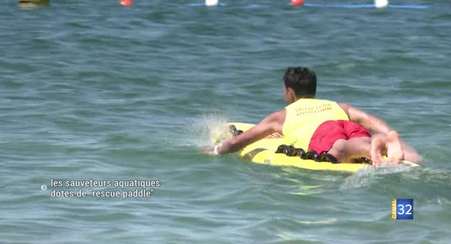 Canal 32 - Des rescue paddle pour surveiller et porter secours plus rapidement