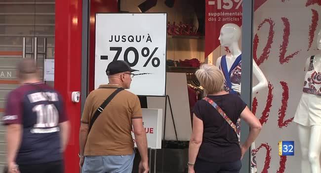 Canal 32 - Soldes d'été : un bilan en demi-teinte pour les commerçants du centre-ville de Troyes