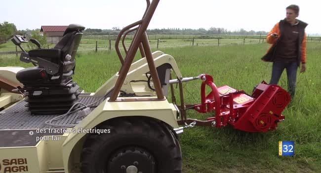 Canal 32 - Rumilly-lès-Vaudes : l'alternative des tracteurs électriques
