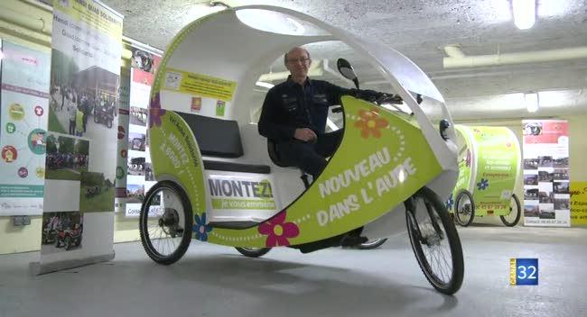 Canal 32 - Une activité sociale à reprendre : des tricycles de transport à vendre