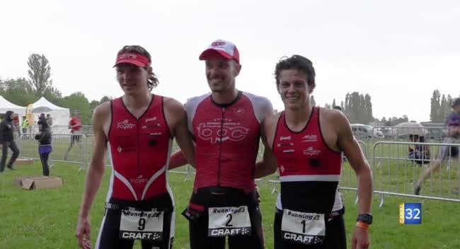 Canal 32 - Triathlon de Dienville : Benjamin Pernet s'impose lors de l'édition 2019