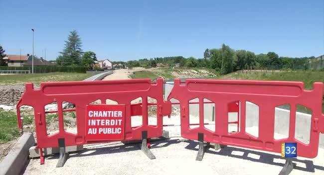 Canal 32 - Digue de Fouchy : les travaux vont reprendre... sans Vinci.