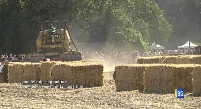 Canal 32 - Dimanche, la fête de l'agriculture présentera les techniques d'hier et d'aujourd'hui