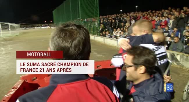 Canal 32 - Dimanche sports du 13 octobre