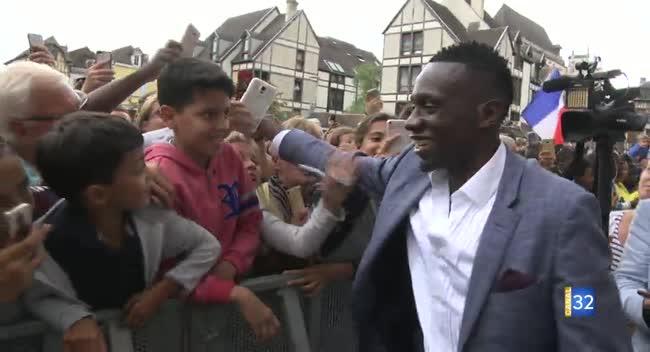 Canal 32 - Djibril Sidibé et Blaise Matuidi à Troyes : leur rencontre avec les Aubois