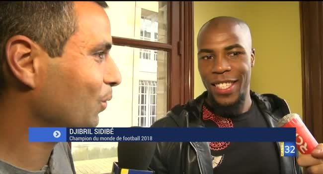Canal 32 - Djibril Sidibé vient d'arriver à Troyes