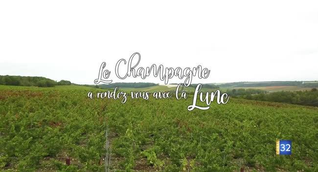 Canal 32 - Documentaire : Le Champagne a rendez-vous avec la Lune