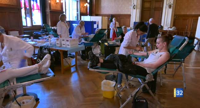 Canal 32 - Don du sang : une grande collecte pour trouver de nouveaux donneurs aubois