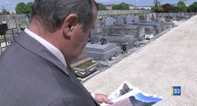 Canal 32 - Noës-près-Troyes : cimetière vandalisé, le maire s'indigne