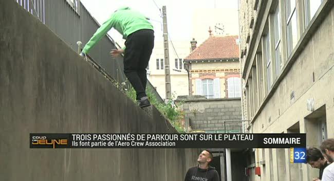 Canal 32 - coup de Jeune : zoom sur le Parkour, sport de rue à la mode