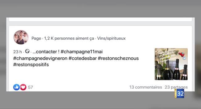 Canal 32 - #champagne11mai : pour relancer la consommation de champagne