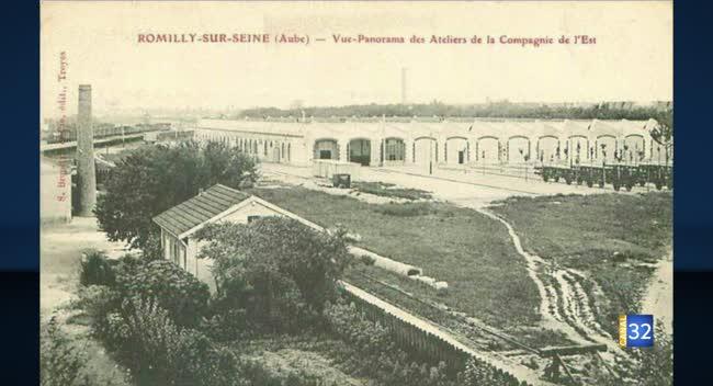 Canal 32 - Du côté du XIXème : la Cité des chemins de fer de l'Est à Romilly-sur-Seine