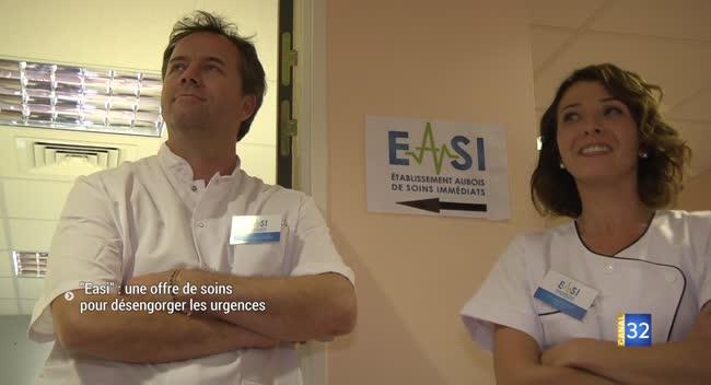 Canal 32 - Easi : un nouveau lieu pour les urgences médicales à Troyes