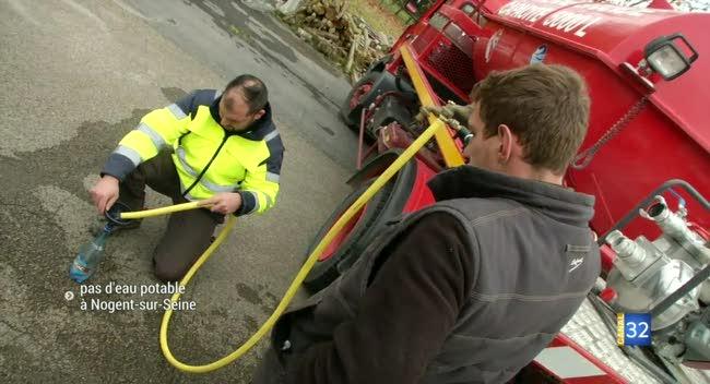 Canal 32 - Eau impropre à la consommation, des litres distribués à Nogent-sur-Seine