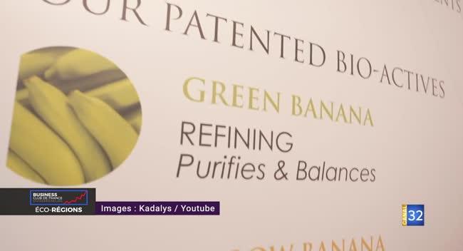 Canal 32 - ECO REGIONS - Kadalys, la PME qui transforme les bananes moches en produit de beauté !