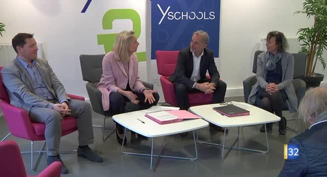 Canal 32 - Enedis et Y Schools deviennent officiellement partenaires