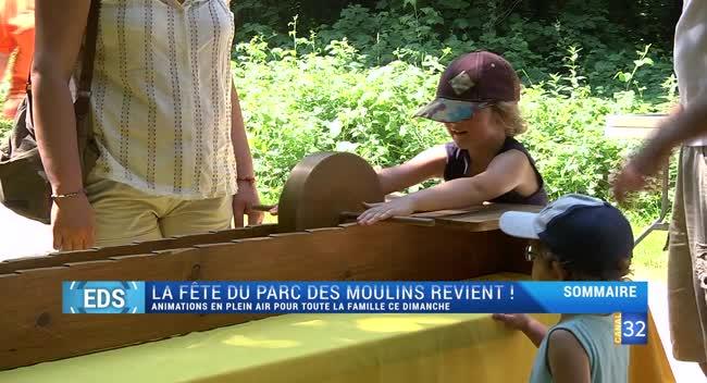Canal 32 - Envie de sortir : fête du Parc des Moulins et pilotage d'avions ce week-end !
