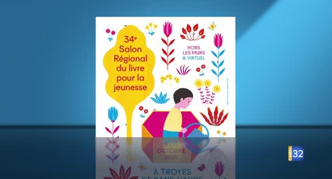 Canal 32 - Envie de sortir : le salon du livre jeunesse se réinvente en 2020