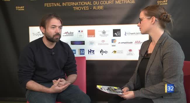 Canal 32 - Envie de sortir : rencontre avec Hubert Charuel, réalisateur et parrain de Court en Scène