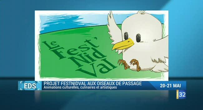 Canal 32 - Envie de sortir : soutenez le Fest'NidVal, (re)visitez le château de Vaux et moulin de Dosches