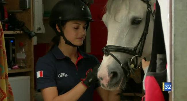Canal 32 - Equitation: Justine Maërte championne d'Europe de saut d'obstacles