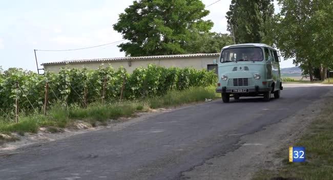 Canal 32 - Escapades près d'Epernay - en estafette vintage