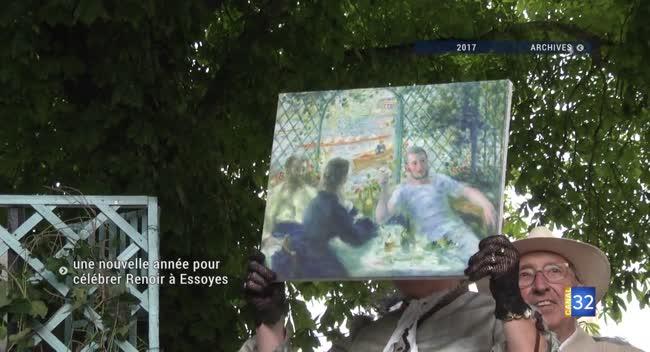 Canal 32 - Essoyes : des événements festifs pour commémorer le centenaire de la mort de Renoir