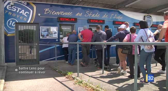 Canal 32 - Estac : battre Lens pour continuer à rêver de la Ligue 1