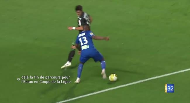 Canal 32 - Estac : déjà la fin de parcours en Coupe de la Ligue (résumé et réaction vidéo)