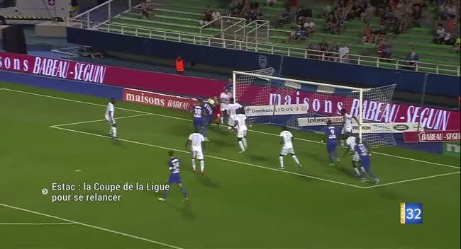 Canal 32 - Estac-Lens : la Coupe de la Ligue pour se relancer