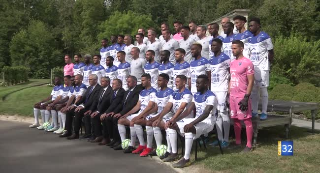 Canal 32 - Estac : l'heure de la photo officielle