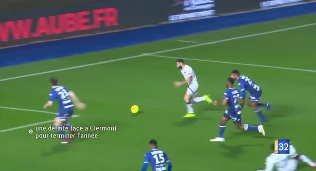 Canal 32 - Estac : une sortie ratée face à Clermont pour finir l'année. Vidéo