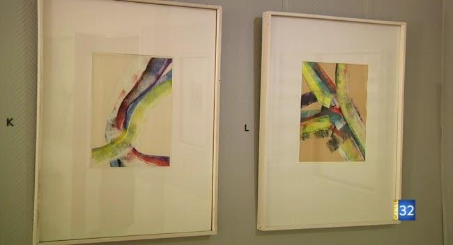 Canal 32 - Découvrez l'Exposition Stelio Marz à la Galerie Du Jansanet