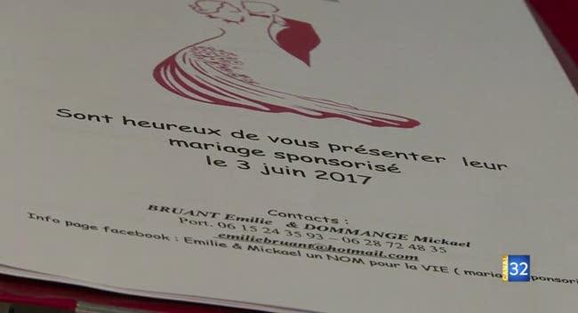 canal 32 un mariage sponsoris en 2017 dans laube - Sponsoriser Son Mariage
