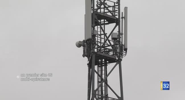 Canal 32 - Faux-Villecerf : un premier site 4G multi-opérateurs inauguré