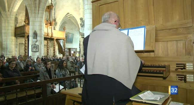 Canal 32 - Une dizaine de concerts programmés pour le Festival d'orgue de Chaource