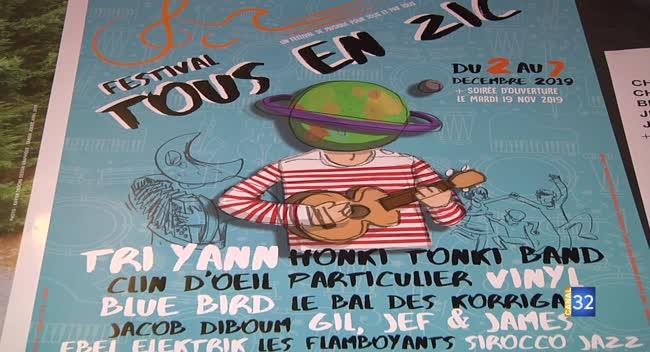Canal 32 - Festival Tous en Zic : un événement qui unit les artistes, au-delà de leurs différences