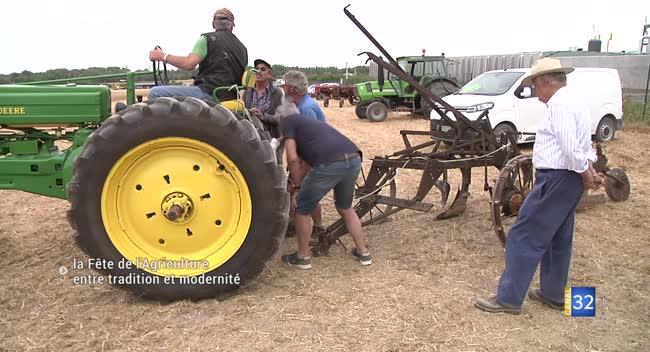 Canal 32 - Ormes : une fête de l'agriculture entre tradition et modernité