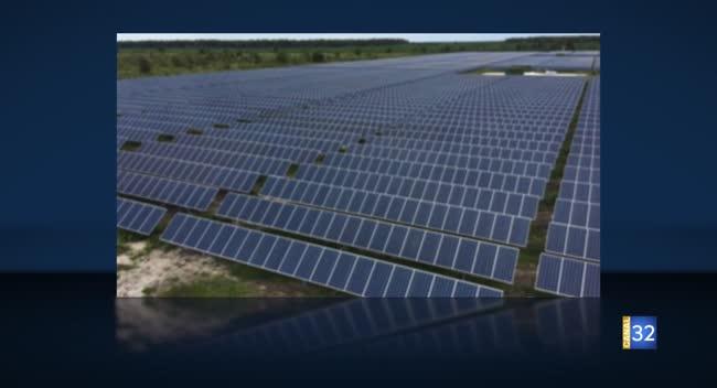 Canal 32 - Le projet photovoltaïque de Lassicourt partiellement financé par les habitants