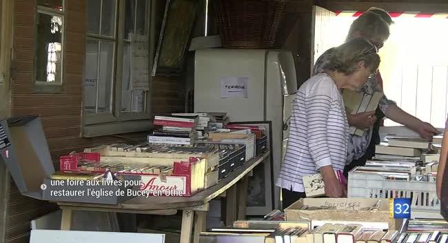 Canal 32 - Bucey-en-Othe : une foire aux livres pour sauvegarder le patrimoine