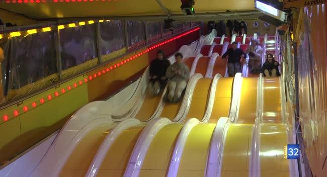 Canal 32 - Foire de Mars : le Slalom