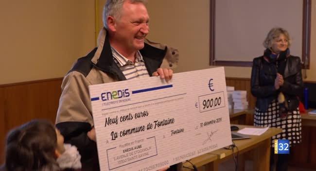 Canal 32 - Fontaine : 900 euros récoltés avec le challenge Enedis