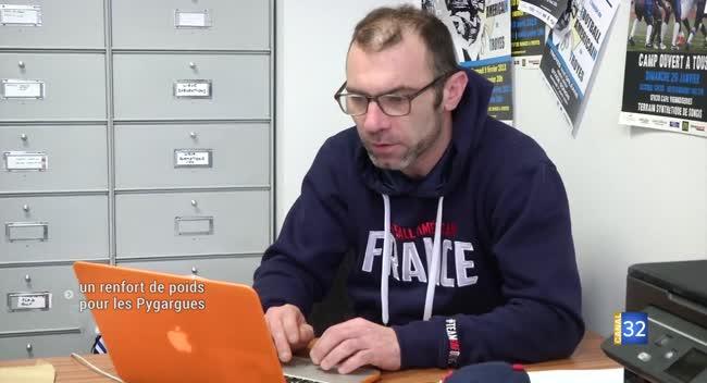 Canal 32 - Football américain : Eric Pierre de retour chez les Pygargues