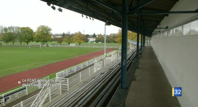 Canal 32 - Coupe de France : le FCAT en mode petit poucet face à Valenciennes