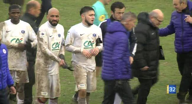 Canal 32 - Football Coupe de France, le FCAT sort avec les honneurs devant Valenciennes : 0-2