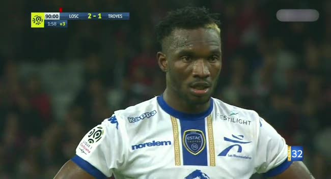 Canal 32 - Ligue 1 : les temps forts de Lille - Estac en vidéo