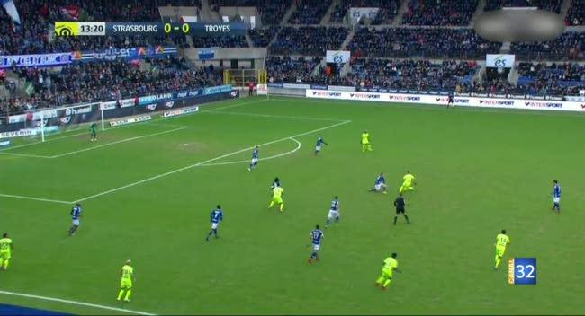 Canal 32 - Ligue 1 : Strasbourg - Estac, retour sur la défaite troyenne en vidéo.